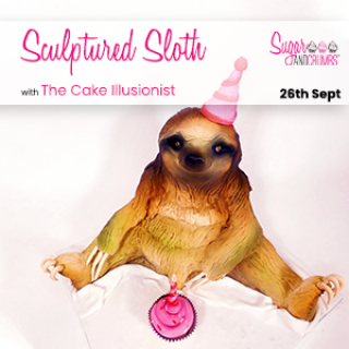 The Cake Illusionist Sculptured Sloth at our warehouse on 26th September 2021