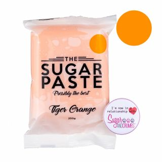 THE SUGAR PASTE™ Tiger Orange 250g