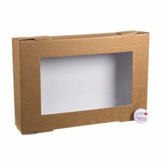 Tray Bake Box with Window Lid