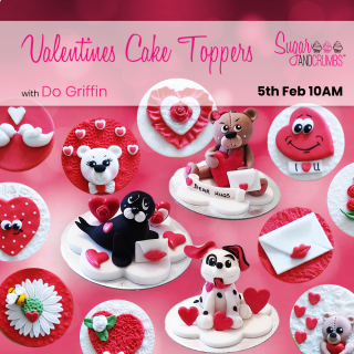 Valentine Cake Toppers with Do Griffin Online.1