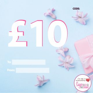 Gift Voucher £10 (Ten Pounds)