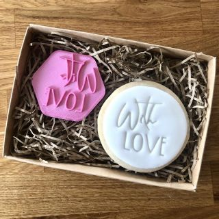 With Love Cookie Stamp