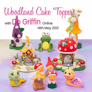 Woodland Cake Toppers with Do Griffin Online 14th May 2021