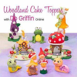 Woodland Cake Toppers with Do Griffin Online