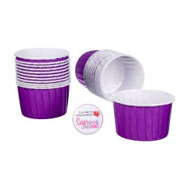 CULPITT Baking Cups PURPLE Pack of 24