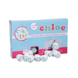 Cake Star Push Easy Cutters MINI ALPHABET LOWERCASE