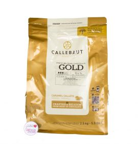 Callebaut FINEST GOLD BELGIAN CHOCOLATE 2.5Kg