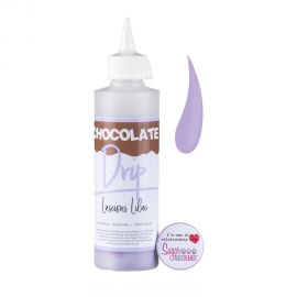 Chocolate Drip LUSCIOUS LILAC Chocolate Icing 250g