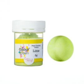 Colour Splash Dust PEARL LIME 5g