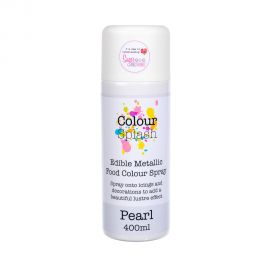 Colour Splash Edible Metallic Food Colour Spray PEARL 400ml