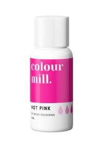 Colour Mill Oil Based Colouring HOT PINK 20ml