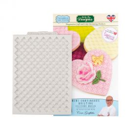 Katy Sue Creative Cake Systems Silicone Mould MINI CONTINUOUS QUILTING