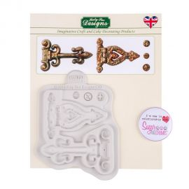 Katy Sue Silicone Mould HINGES AND SCREWS