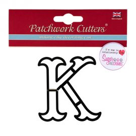 Patchwork Cutters Large Letter K