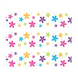 PhotoCake Strips HAPPY VARIETY FLOWERS