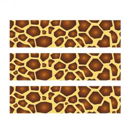 PhotoCake Strips SAFARI PRINT GIRAFFE