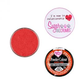 Rainbow Dust Matt Powder Colour POPPY RED