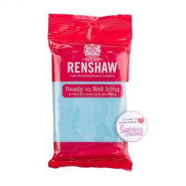 Renshaw Sugarpaste Ready to Roll BABY BLUE 250g
