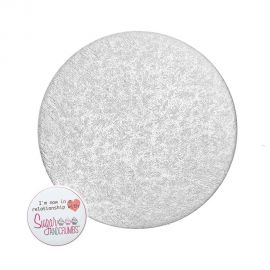 Cake Card Cut Edge ROUND 05 Inch