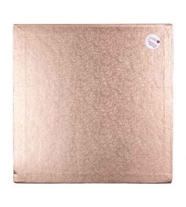 Cake Drum SQUARE ROSE GOLD 14 Inch