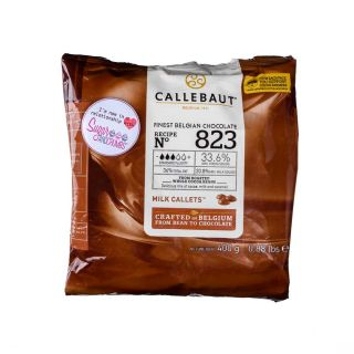 Callebaut BELGIAN MILK CHOCOLATE COUVERTURE 400g