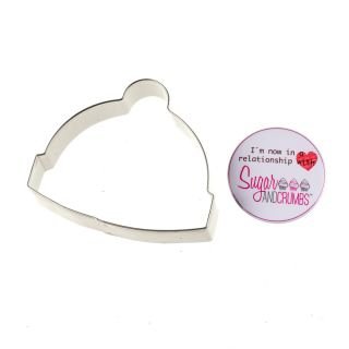 BOBBLE HAT Cookie Cutter Stainless Steel