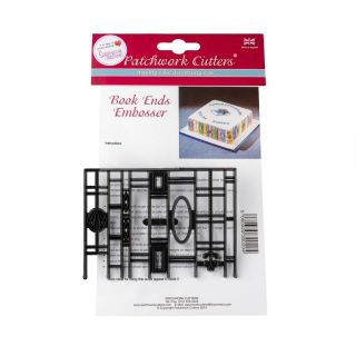Patchwork Cutters BOOK ENDS EMBOSSER
