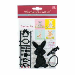 Patchwork Cutters BUNNY SET