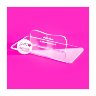 Clear Acrylic Smoothers Small RECTANGLE