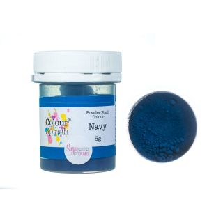 Colour Splash Dust MATT NAVY 5g