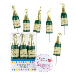 Culpitt Candles CHAMPAGNE Pack of 6