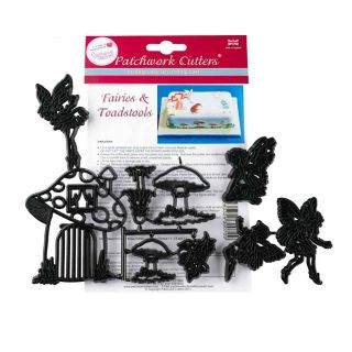 Patchwork Cutters FAIRIES AND TOADSTOOLS