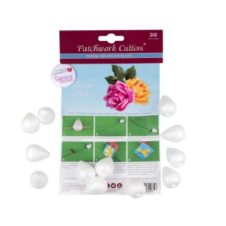 Patchwork Cutters FLOWER BUDS 35MM PACK OF 12