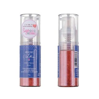 House of Cake Glitter Spray METALLIC ROSE