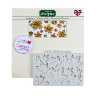 Katy Sue Silicone Mould MAPLE LEAVES