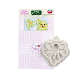 Katy Sue Sugar Buttons Silicone Mould OCTOPUS