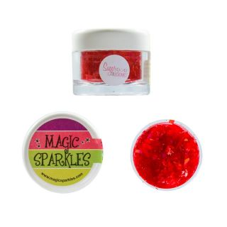 Magic Sparkles Holographic RED