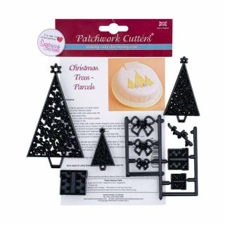 Patchwork Cutters CHRISTMAS TREES AND PARCELS