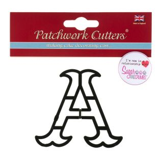 Patchwork Cutters LARGE LETTER A