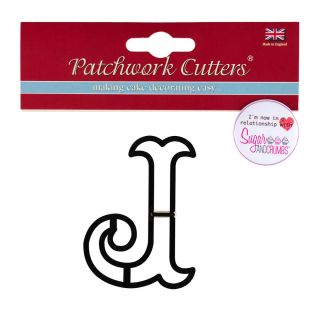 Patchwork Cutters Large Letter J