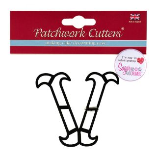 Patchwork Cutters Large Letter V