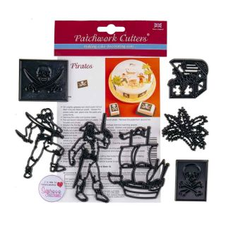 Patchwork Cutters PIRATES
