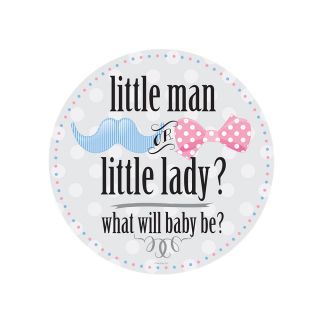 PhotoCake Round LITTLE MAN OR LITTLE LADY