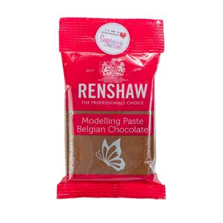 Renshaw Modelling Paste MILK BELGIAN CHOCOLATE 180g