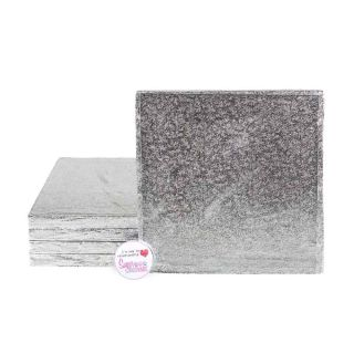 Cake Drum SQUARE 06 Inch Pack of 5