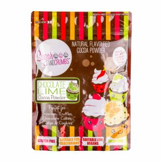 Sugar and Crumbs Cocoa Powder CHOCOLATE LIME 250g