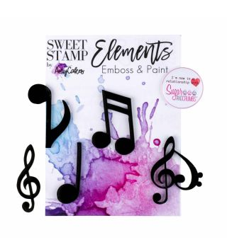 Sweet Stamp Elements MUSIC NOTES