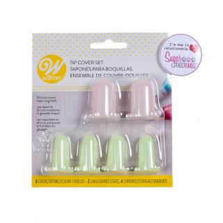 Wilton 6 Piece Silicone TIP COVER SET