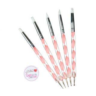 Ball Tool and Shaper PINK Pack of 5