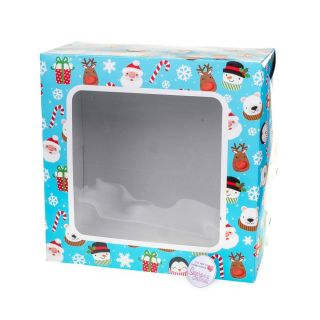 Cake Box Square With Window CHILDRENS 10 Inch
